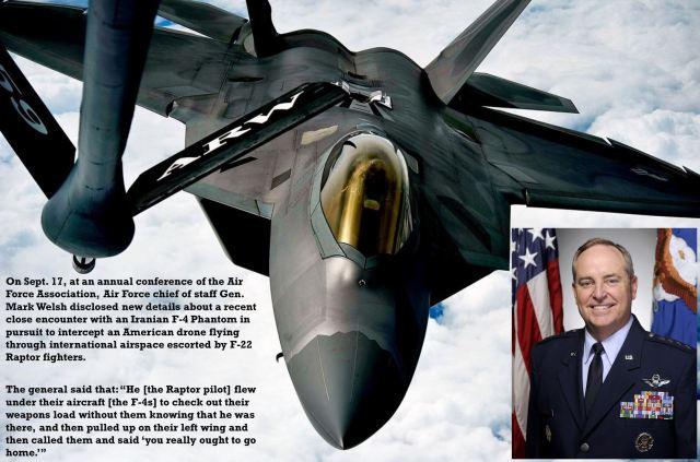 F-22 Raptor refueling in air